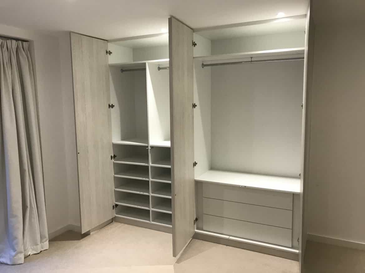 wardrobe storage solution