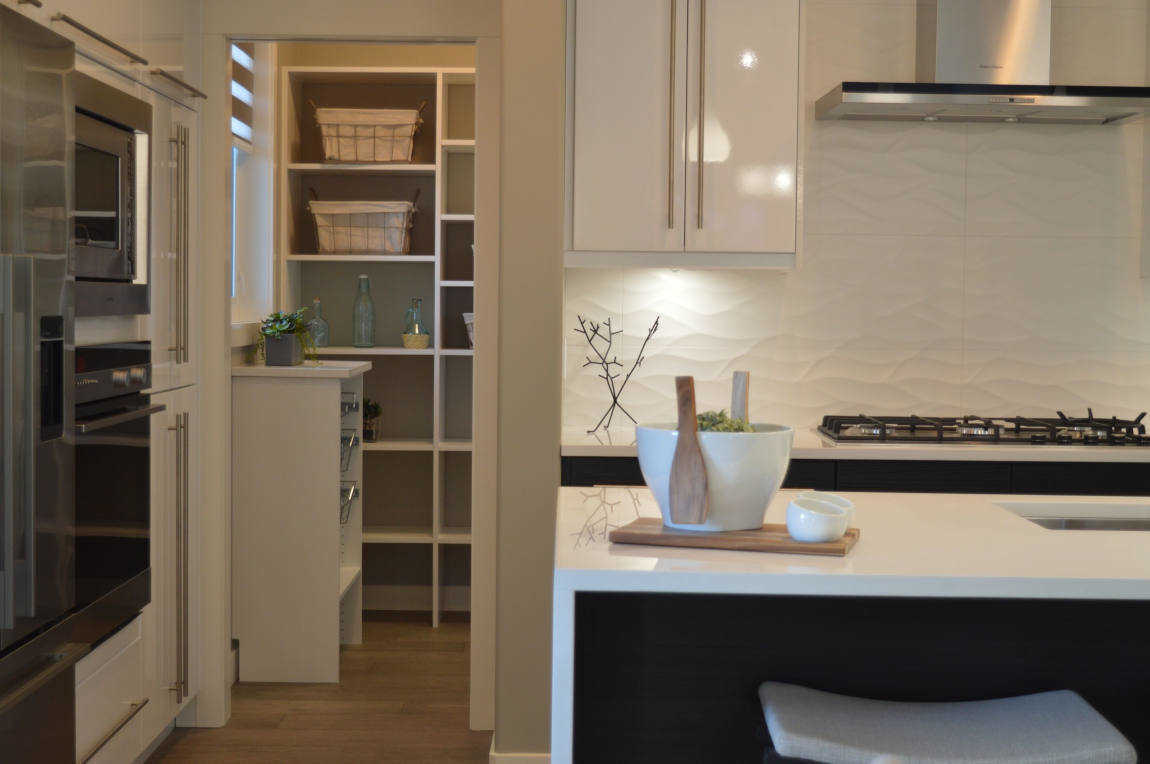 kitchen bespoke cupboards
