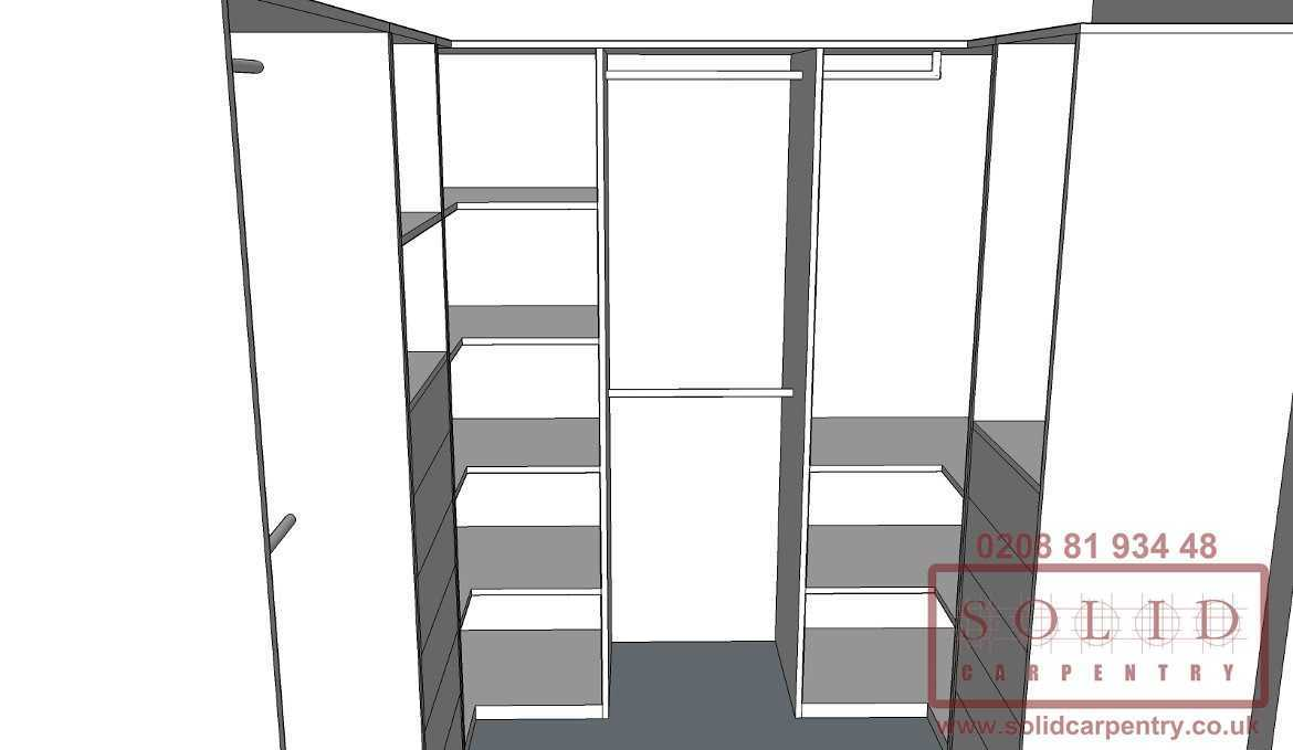 bespoke walk in wardrobes