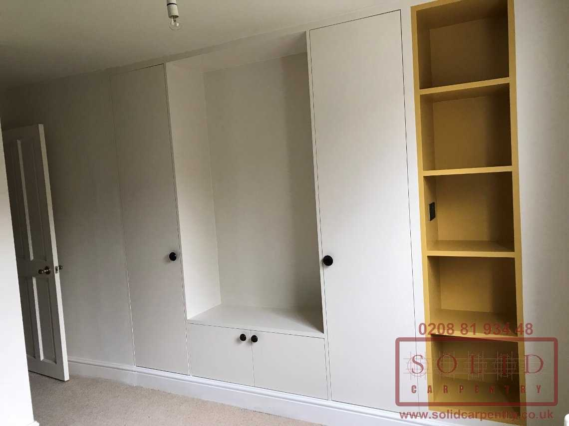 children's fitted furniture with wardrobe