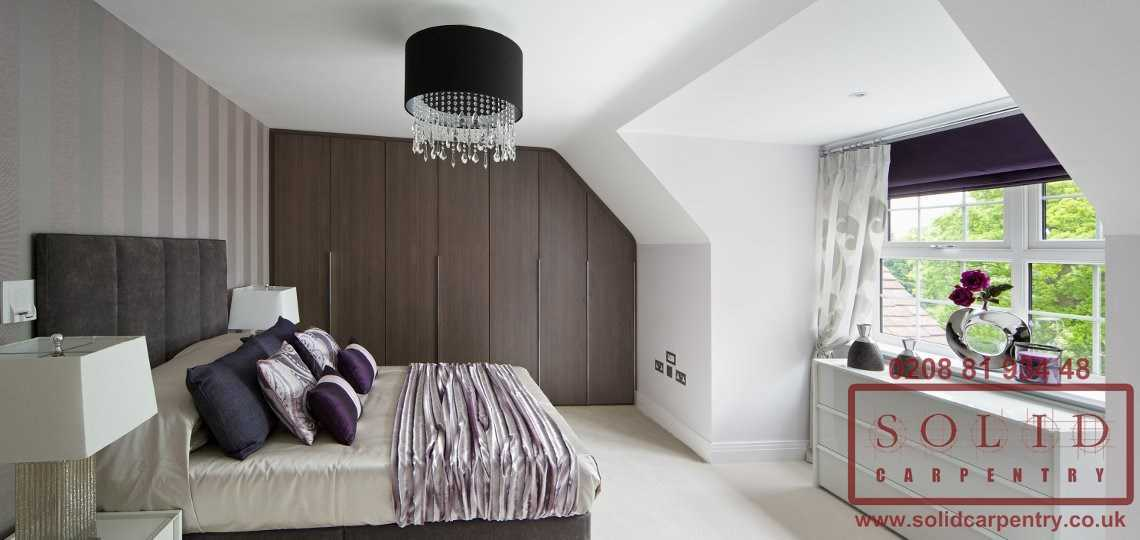 bedroom bespoke built-in furniture