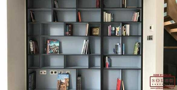 Bookcase with secret door