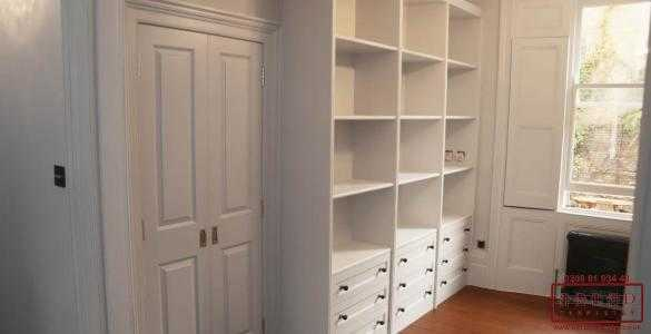 individually made bookcases