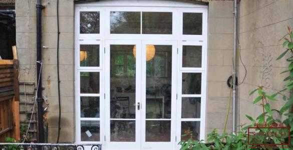 Garden french doors