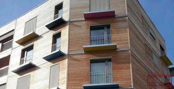 building wood cladding