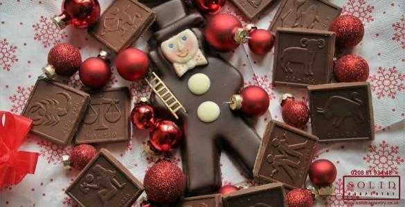 last Christmas chocolate