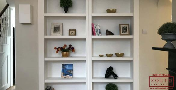 living room secret bookcase
