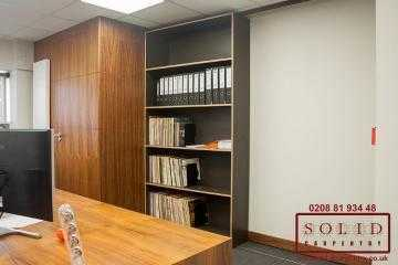 bespoke sliding Bookcase