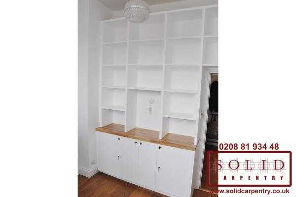 custom made storage shelves