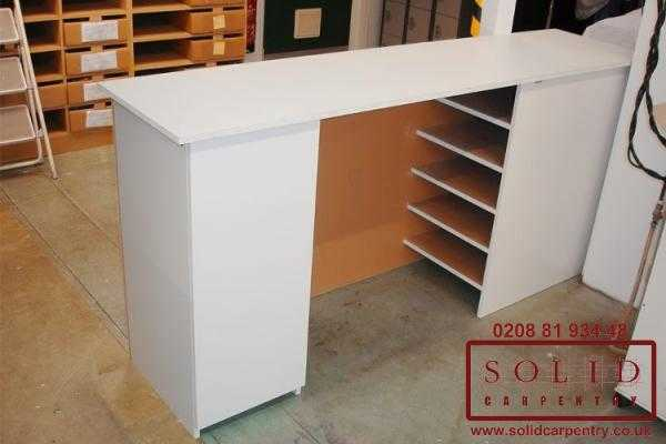 Factory storage table