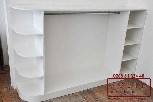 Display white finish