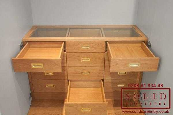 custom made wardrobe drawers