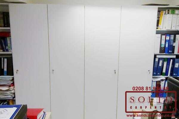 secure storage cupboard for documents
