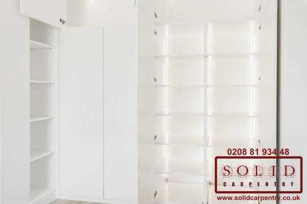 bedroom bespoke wardrobe