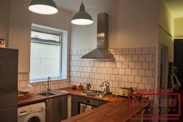 U shaped kitchen in hackney