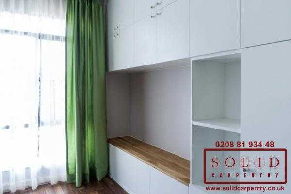 wardrobe with tv space