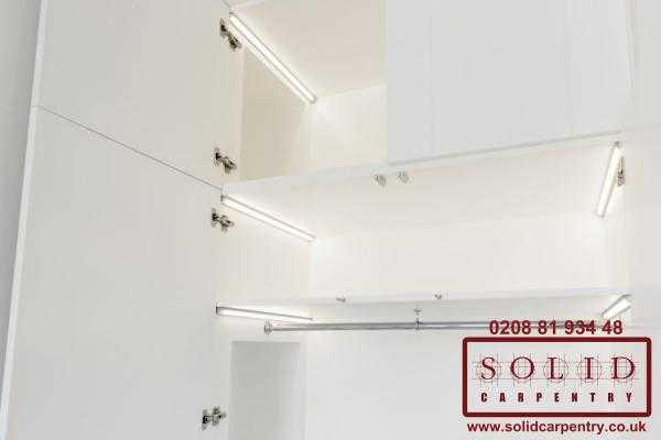 led wardrobe lights