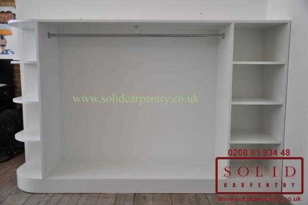 Shop display unit