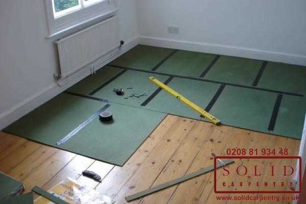 Image illstrating work on Flooring