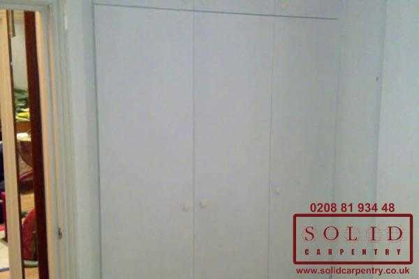 Image illstrating work on Custom wardrobes
