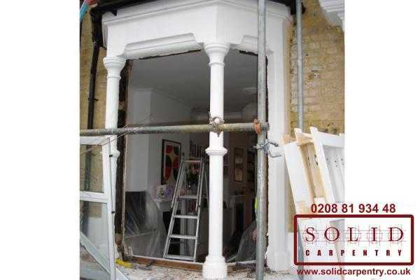 Front Interior Door Installation In London Solid Carpentry