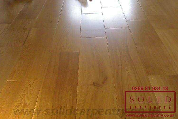 Wood Floor Fitting In London Solid Carpentry