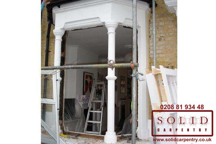 Front interior door installation in london solid carpentry for Interior doors installation services